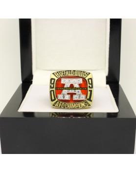 Buffalo Bills 1991 AFC Football Championship Ring