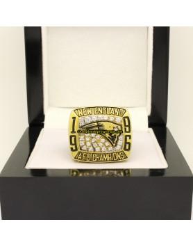 New England Patriots 1996 AFC Football Championship Ring