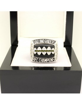 Oakland Raiders 2002 AFC Football Championship Ring