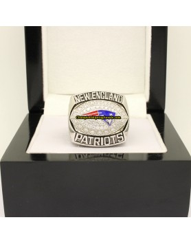 New England Patriots 2007 AFC Football Championship Ring
