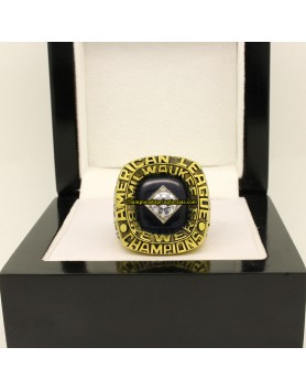 Milwaukee Brewers 1982 Baseball Championship Ring