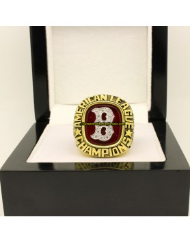 Boston Red Sox 1986 AL Baseball Championship Ring