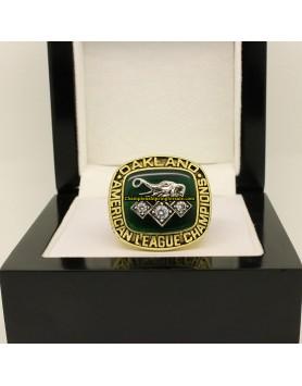 Oakland Athletics 1990 AL Baseball Championship Ring