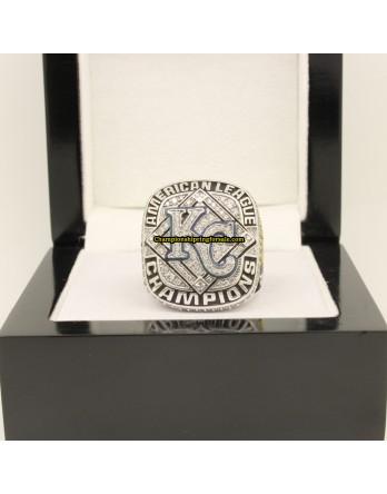 Kansas City Royals 2014 AL Baseball Championship Ring