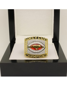 Calgary Stampeders 2001 CFL Football Grey Cup Championship Ring