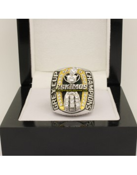 Edmonton Eskimos 2005 CFL Football Grey Cup Championship Ring