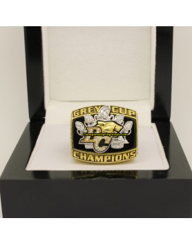 BC Lions 2006 CFL Football Grey Cup Championship Ring