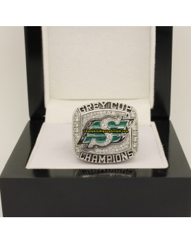 Saskatchewan Roughriders 2007 CFL Football Grey Cup Championship Ring