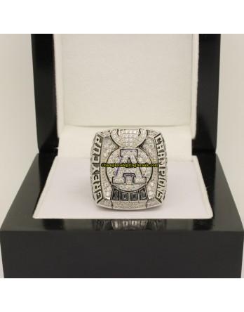 Toronto Argonauts 2012 CFL Football Grey Cup Championship Ring