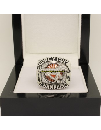 Calgary Stampeders 2014 CFL Football Grey Cup Championship Ring