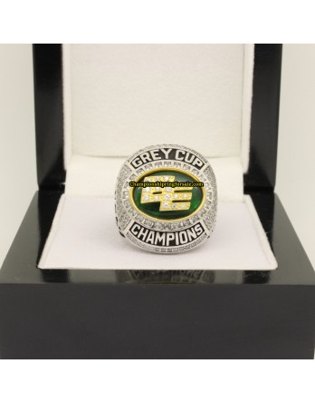 Edmonton Eskimos 2015 CFL Football Grey Cup Championship Ring