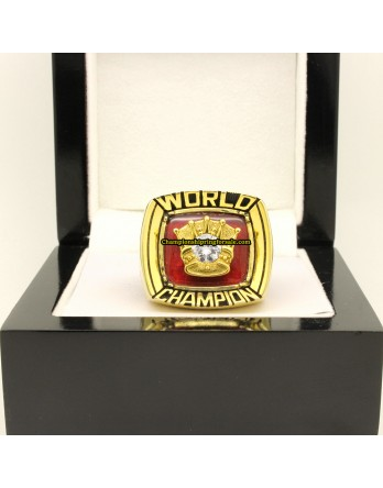 1980-1984 Thomas Hearns Boxing Career Championship Ring