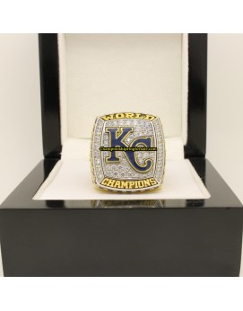 2015 Kansas City Royals MLB World Series Baseball Championship Ring