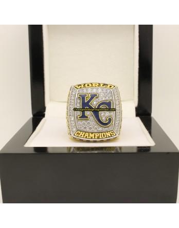 2015 Kansas City Royals MLB World Series Baseball Championship Ring
