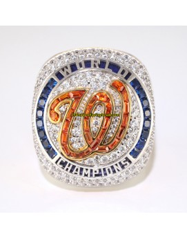 2019 Washington Nationals World Series Baseball Championship Ring