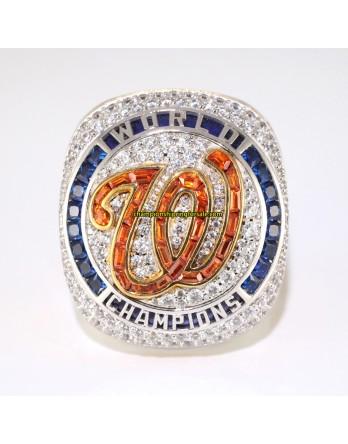 2019 Washington Nationals World Series Baseball Championship Ring