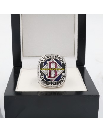 2004 Boston Red Sox World Series Baseball Gemstone Championship Ring