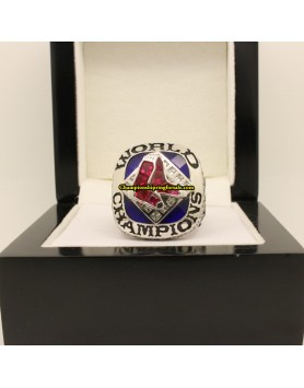 2007 Boston Red Sox MLB World Series  Baseball Gems Championship Ring