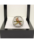 2011 St. Louis Cardinals MLB World Series  Baseball Gemstone Championship Ring