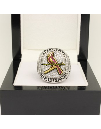 2011 St. Louis Cardinals World Series  Baseball Gemstone Championship Ring
