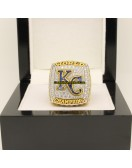 2015 Kansas City Royals MLB World Series Baseball Gemstone Championship Ring