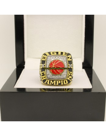 2002 Indiana Hoosiers NCAA Men's Basketball National Championship Ring
