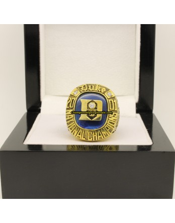 2001 Duke Blue Devils NCAA Men's Basketball National Championship Ring