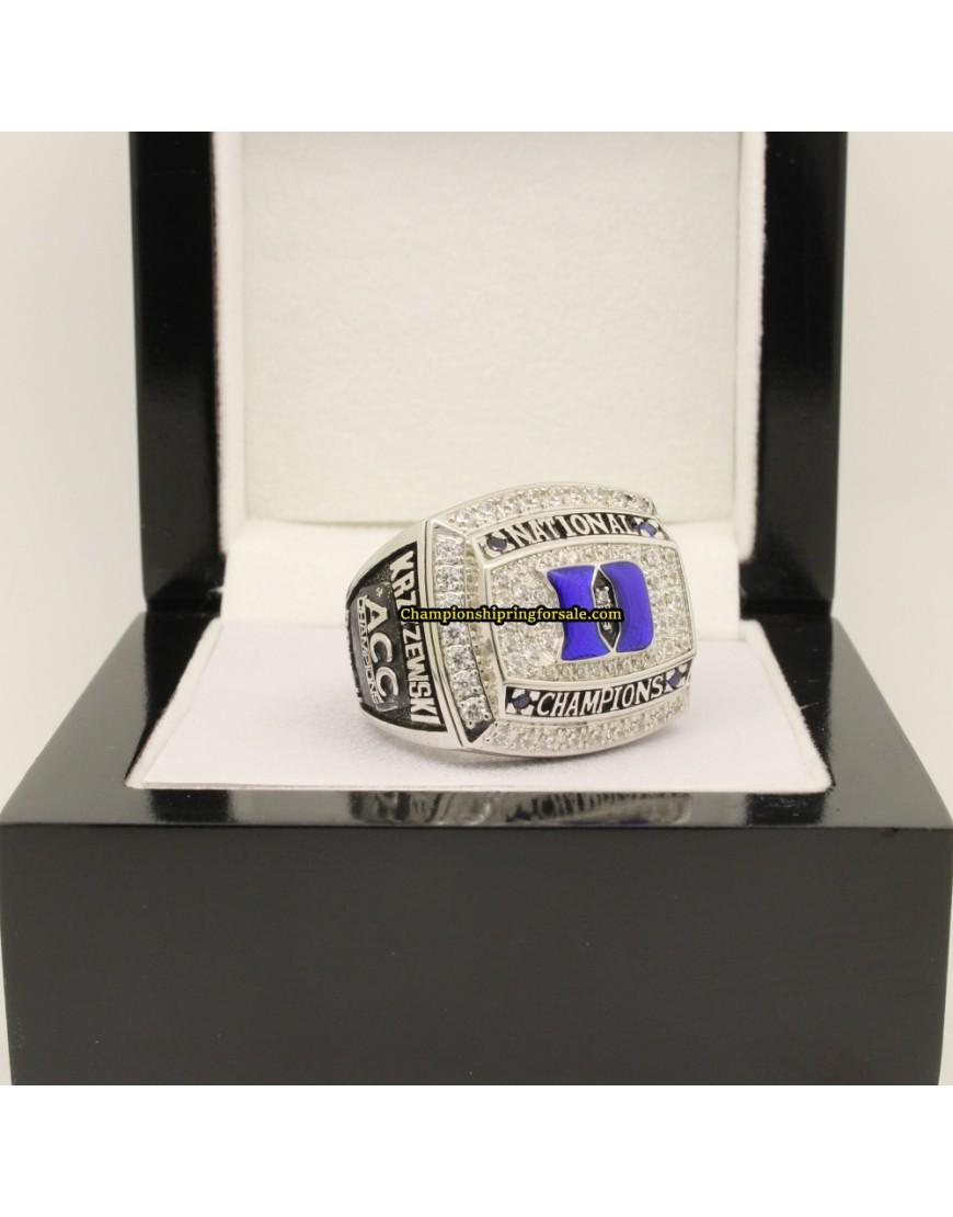 Duke National Championship Ring For Sale