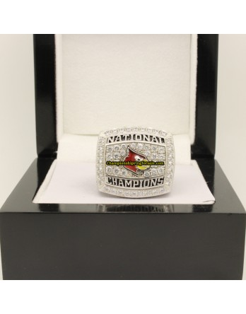 2013 Louisville Cardinals NCAA Men's Basketball National Championship Ring