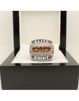 2015 Arizona Wildcats  Elite Eight Pac 12 NCAA Basketball Championship Ring