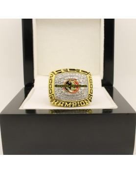 2000 FSU Florida State Seminoles Football ACC Championship Ring