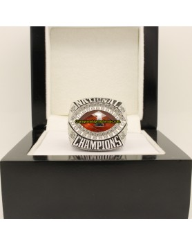 2010 Alabama Crimson Tide BCS & CFP College Football Playoff Championship Ring