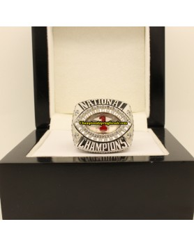 2012 Alabama Crimson Tide BCS & CFP College Football Playoff Championship Ring