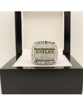 2014 Baylor Bears Big 12 Footabll Co–Champions Championship Ring