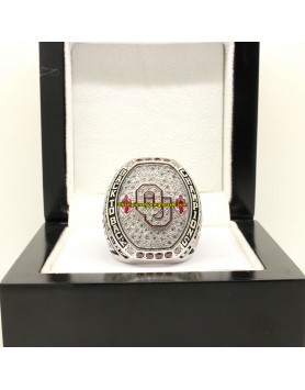2016 Oklahoma Sooners NCAA Football BIG XII Championship Ring
