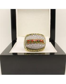 2008 Texas Tech Red Raiders Big 12 South Championship Ring