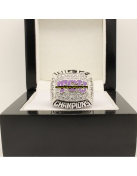 2014 TCU Horned Frogs Big 12 Football Co-Champions Championship Ring