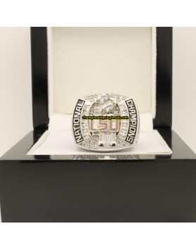 2007 LSU Tigers NCAA Football National Championship Ring