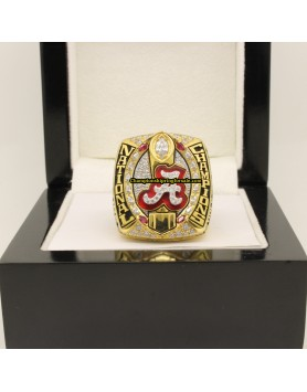 2015 Alabama Crimson Tide NCAA Football National Championship Ring