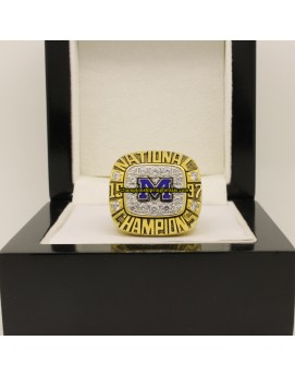 1997 Michigan Wolverines AP NCAA Football National Championship Ring