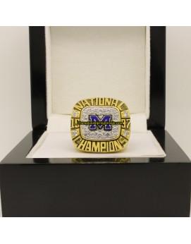 1997 Michigan Wolverines AP NCAA Football National Championship Ring