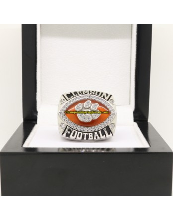 2014 Clemson Tigers Russell Athletic Bowl NCAA Championship Ring