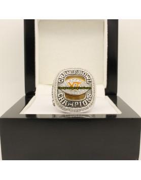 2009 Virginia Tech Hokies Football Orange Bowl Championship Ring