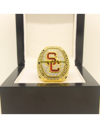 2017 USC Trojans NCAA Rose Bowl Championship Ring