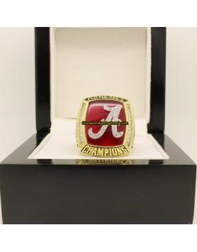 2009 Alabama Crimson Tide Football SEC Championship Ring