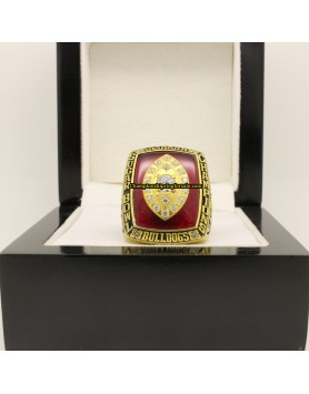 2003 Georgia Bulldogs Football Sugar Bowl Championship Ring