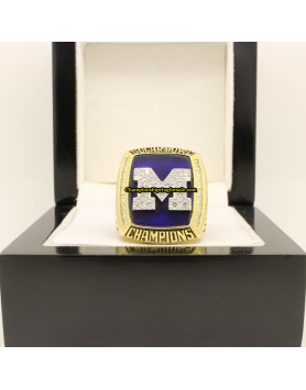 2012 Michigan Wolverines Football Sugar Bowl Championship Ring