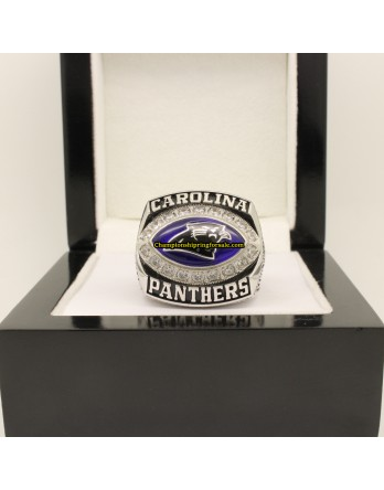 Carolina Panthers 2003 NFC Football Championship Ring