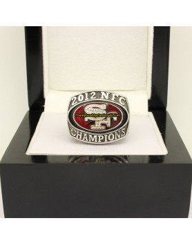 San Francisco 49ers 2012 NFC Football Championship Ring
