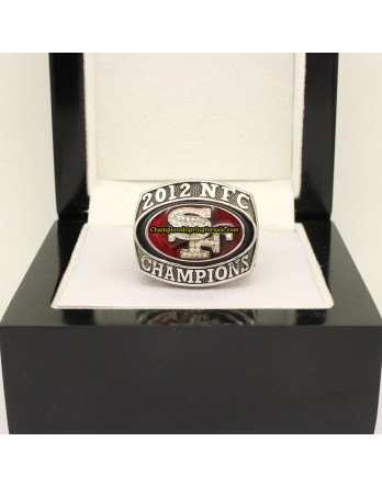San Francisco 49ers 2012 NFC Football Championship Ring